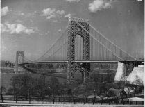 The George offered Manhattan-bound motorists from New Jersey two trans-Hudson options: they could drive under the Hudson via the Holland Tunnel at Jersey City; or drive over the river by crossing the George.