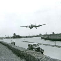 Approach from the SW End of Runway 4 in 1947