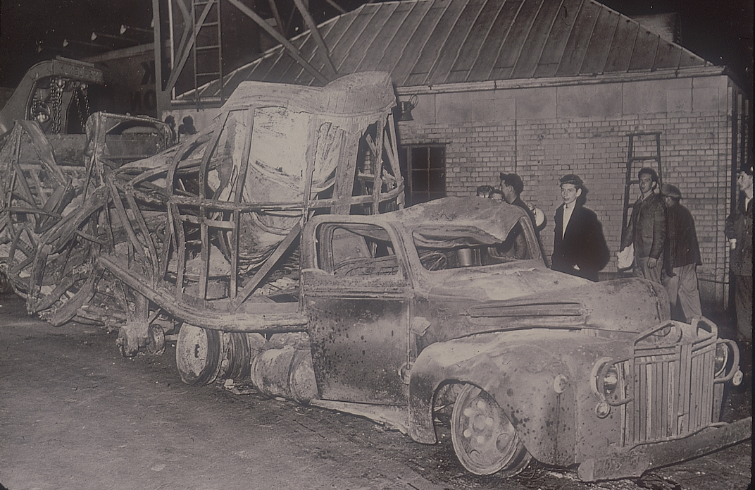 New Holland Auto >> Throwback Thursday: The Holland Tunnel Fire of 1949