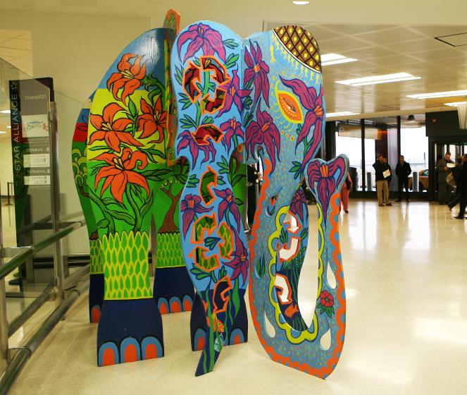 Animodules at Newark Liberty International:  Public Art by the Public (2/5)