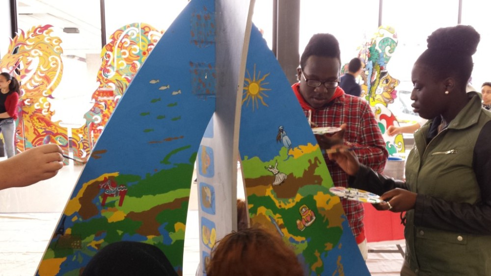 Animodules at Newark Liberty International:  Public Art by the Public (4/5)