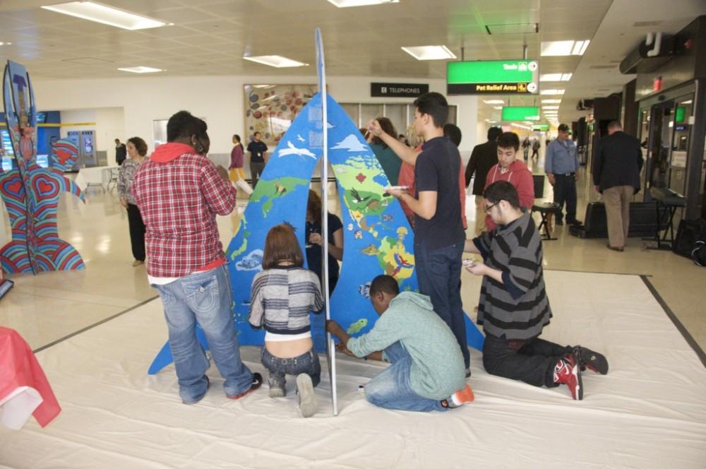 Animodules at Newark Liberty International:  Public Art by the Public (3/5)