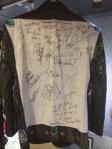 Autographed jacket