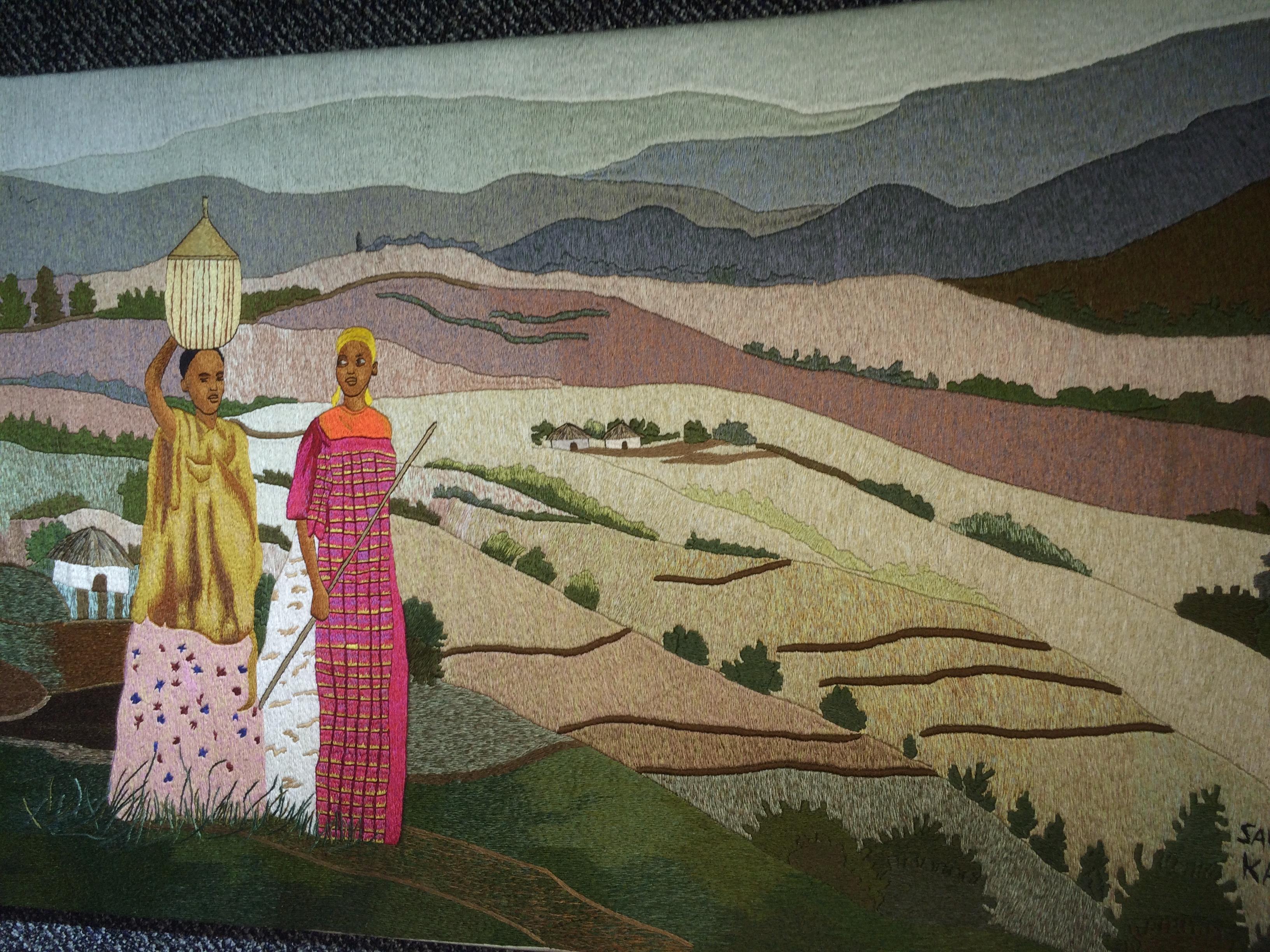 Port Authority Bus Terminal Celebrates Rwandan Art