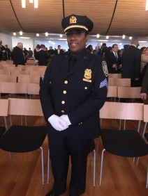 Sergeant Irving is an eight-year PAPD veteran possessing a true public servant's heart