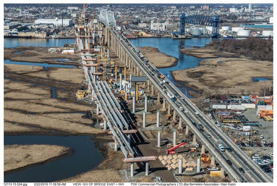 VIEW: G/V OF BRIDGE EAST > NW