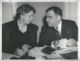 Eleanor Roosevelt and Mayor La Guardia