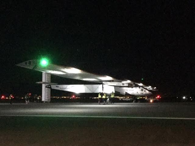 Solar Impulse 2 at JFK