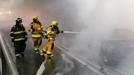 Inside The Lincoln Tunnel S Live Burn