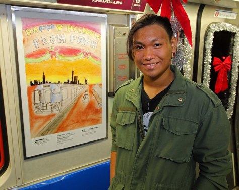 PATH Poster Contest grand prize winner Renfrew Maristela