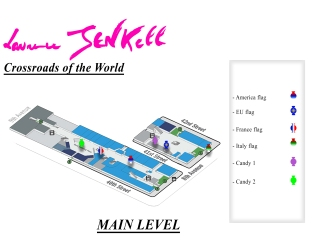 Laurence Jenkell candy map main level