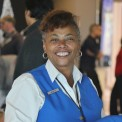 """It's always meaningful to help people – that's the joy of being at Travelers Aid!"" -- Muriel Watkins, volunteer for nearly 10 years and retired Social Services worker after 36 years."