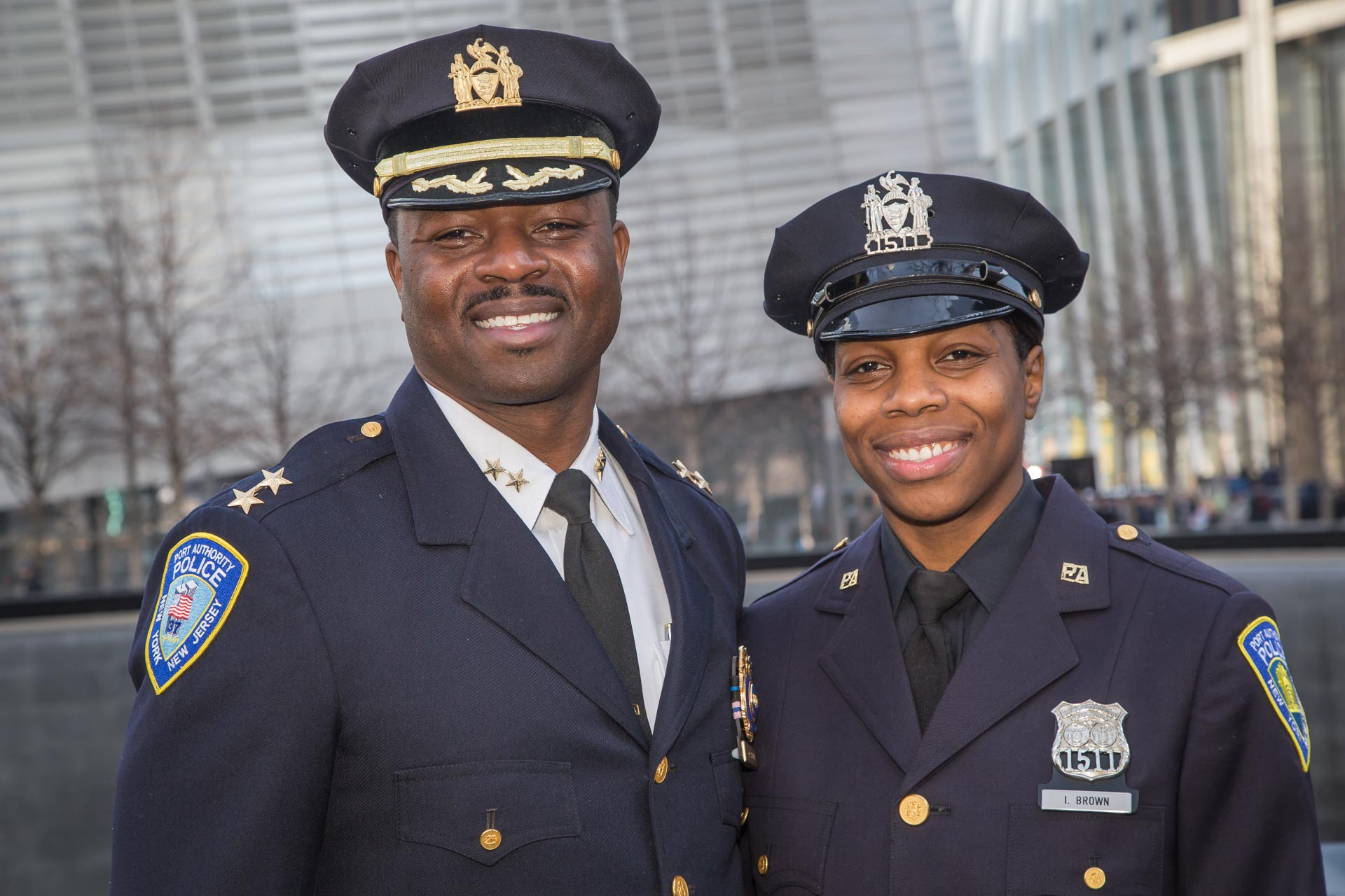 For Five PAPD Recruits, Big Shoes to Fill  
